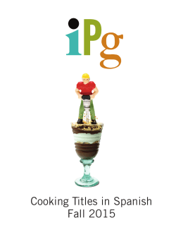 Cooking Titles in Spanish Fall 2015