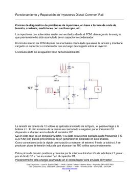 Funcionamiento Inyectores Diesel Common Rail