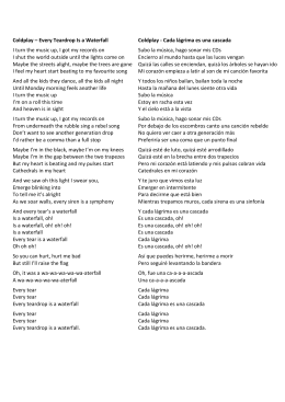 """Every Teardrop is a Waterfall"" lyrics and Spanish translation"