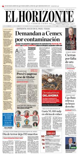 Demandan a Cemex por contaminación