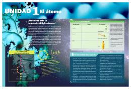 UNIDAD 1El átomo - Pontificia Universidad Católica de Chile