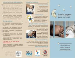 Sueno Seguro Para Su Bebe