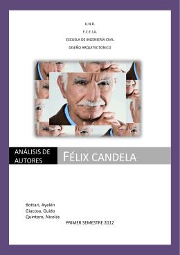 Félix candela - Facultad de Ciencias Exactas, Ingeniería y