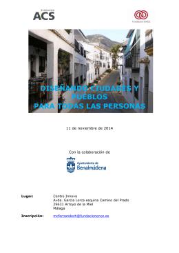 Programa Jornada accesibnilidad en Benalmadena ok