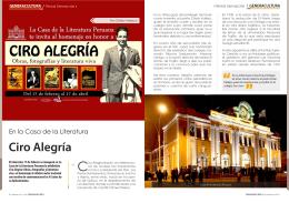 Ciro Alegría - Generaccion.com