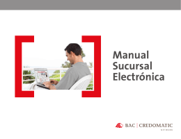 Manual Sucursal Electrónica