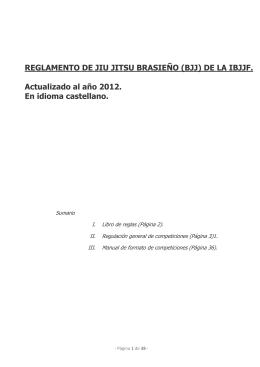 reglamento de jiu jitsu brasieo (bjj) de la ibjjf - hispaconsulting