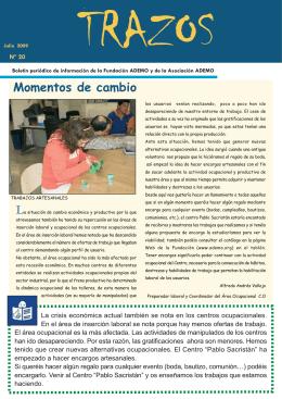 Trazos nº20 Julio 2009