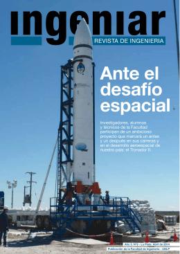 Ante el desafío espacial - Facultad de Ingeniería