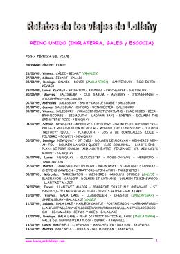 REINO UNIDO (INGLATERRA, GALES y ESCOCIA)
