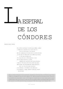 a espiral de los cóndores - Universidad Autónoma Metropolitana