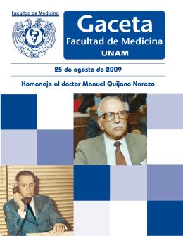 Homenaje al doctor Manuel Quijano Narezo