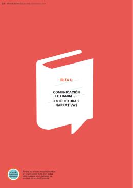 Ruta 6: Comunicación literaria: narrativa