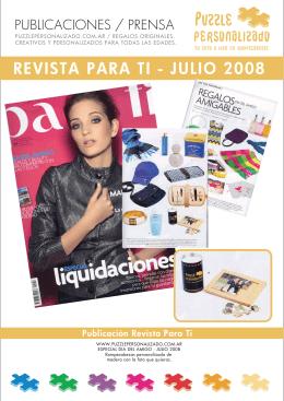 Publicación en Diario La Nación