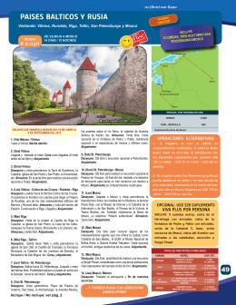paises Balticos Y rusia