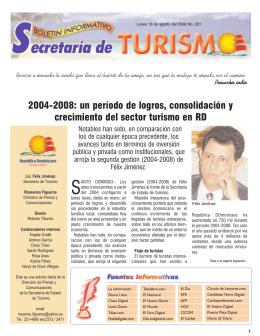 Boletín Informativo 18/08/2008