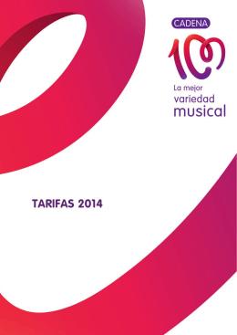 tarifas c100 2014
