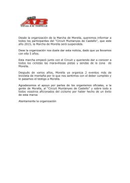 suspension marxa btt morella 2015