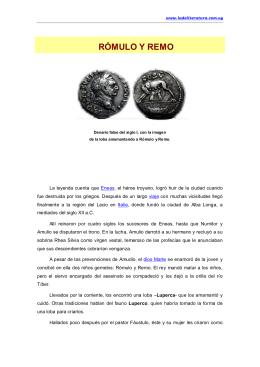 Rómulo y Remo - Ladeliteratura