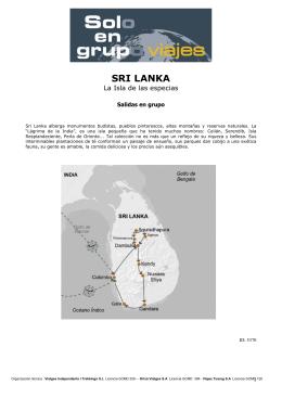 SRI LANKA - Viajes Tuareg