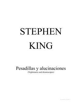 King, Stephen - Pesadillas y alucinaciones