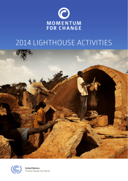 Brochure - 2014 Lighthouse Activities