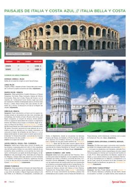 PAISAJES DE ITALIA Y COSTA AZUL // ITALIA BELLA Y COSTA
