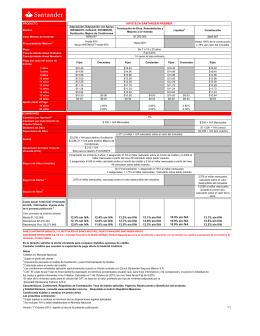 Hipoteca Santander Premier