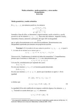 Media geométrica, media aritmética, media armónica :: Korovkin