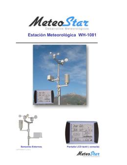 Estación Meteorológica WH-1081