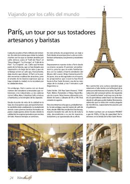 París,un tour por sus tostadores artesanos y baristas