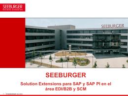 Adaptadores B2B SEEBURGER para SAP PI