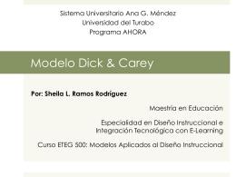 modelo dick & carey: sheila ramos