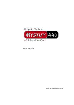 TerraTec Mystify 440 \(español\)