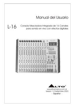 MANUAL L-16 ESP
