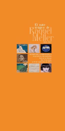 El mito trágico de Raquel Meller (1888 - 1962)