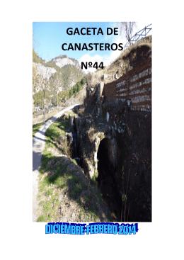 GACETA DE CANASTEROS Nº44 - Centros de Día FAISEM