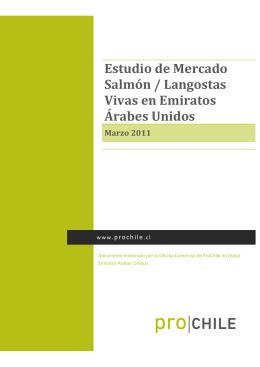 2011 Estudio de Mercado Salmón y Langostas