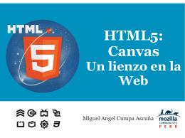 HTML5: Canvas
