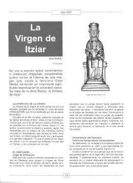 La Virgen de Itzia,r