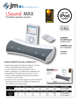 i.Sound MAX - JM Distribuidores