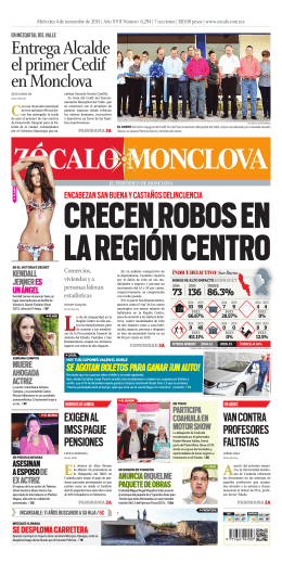 Entrega Alcalde el primer Cedif en Monclova