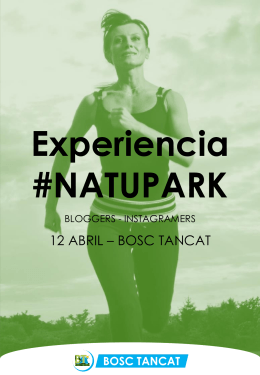 Experiencia #Natupark