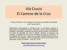 via crucis en pdf - Caminando con Jesús