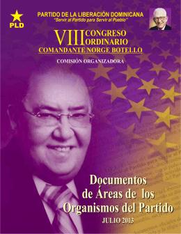 Libro Congreso PLD.indd - Secretaría de Asuntos electorales