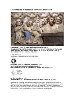 Los Arrozales de Vercelli: Il Principato de Lucedio