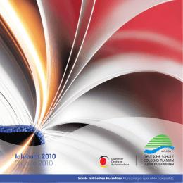 "Jahrbuch 2010 | Anuario 2010 - Colegio Alemán ""Juan Hoffmann"""