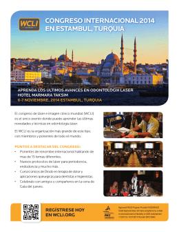 CONGRESO INTERNACIONAL 2014 EN ESTAMBUL, TURQUIA