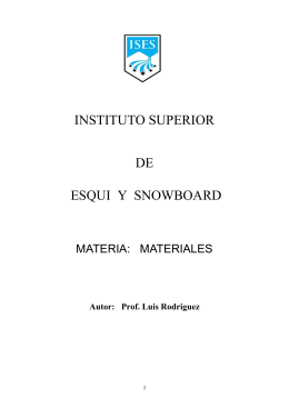 INSTITUTO SUPERIOR DE ESQUI Y SNOWBOARD