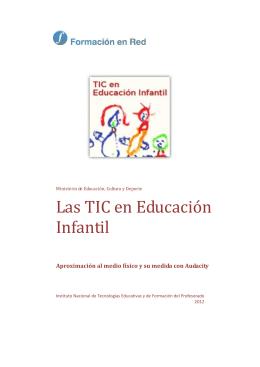 TIC en Educación Infantil